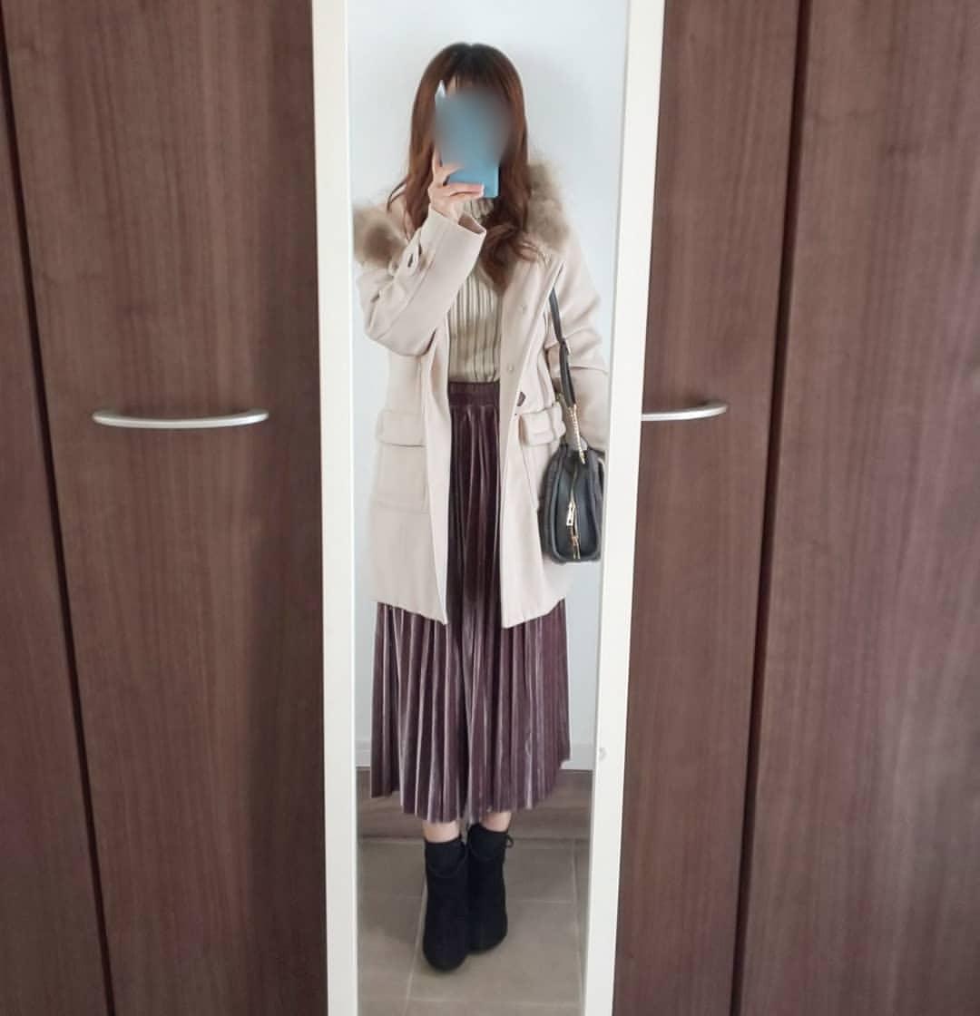 最高気温14度・最低気温0度 04_08_2mamaの服装
