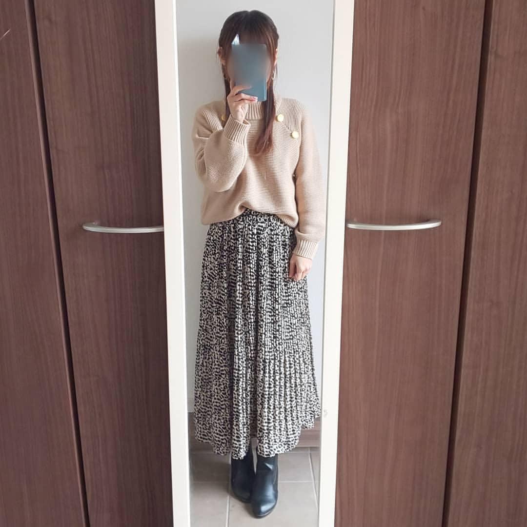 最高気温10度・最低気温0度 04_08_2mamaの服装