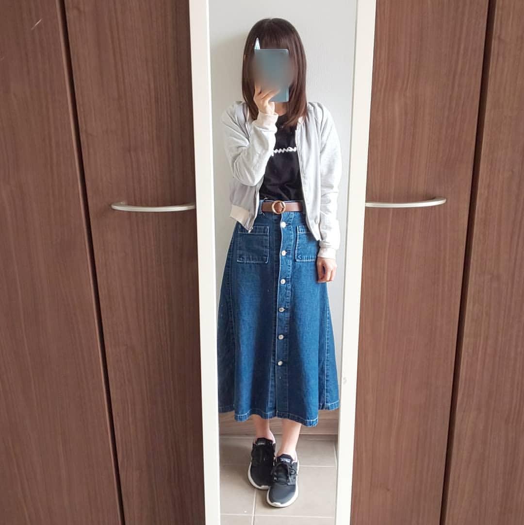 最高気温18度・最低気温9度 04_08_2mamaの服装