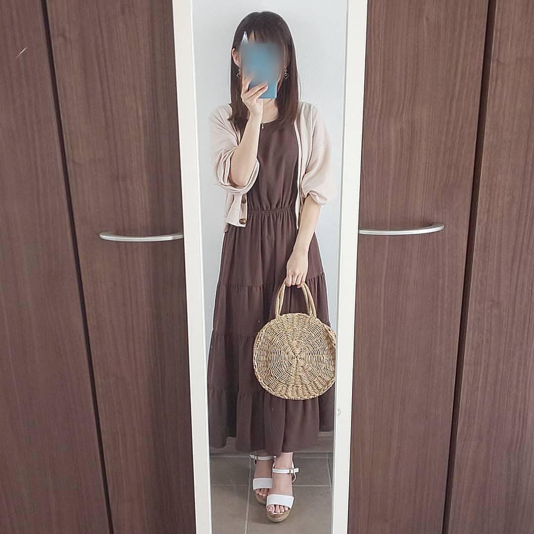 最高気温25度・最低気温15度 04_08_2mamaの服装