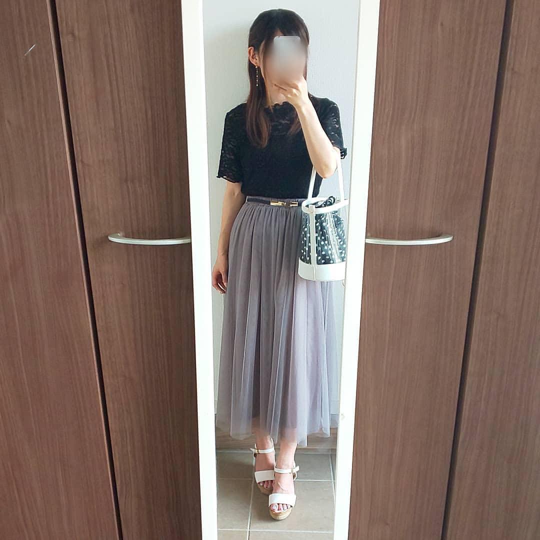 最高気温33度・最低気温25度 04_08_2mamaの服装