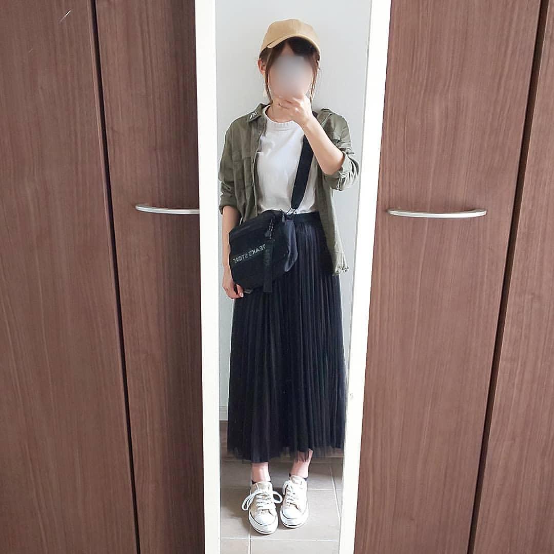 最高気温34度・最低気温24度 04_08_2mamaの服装