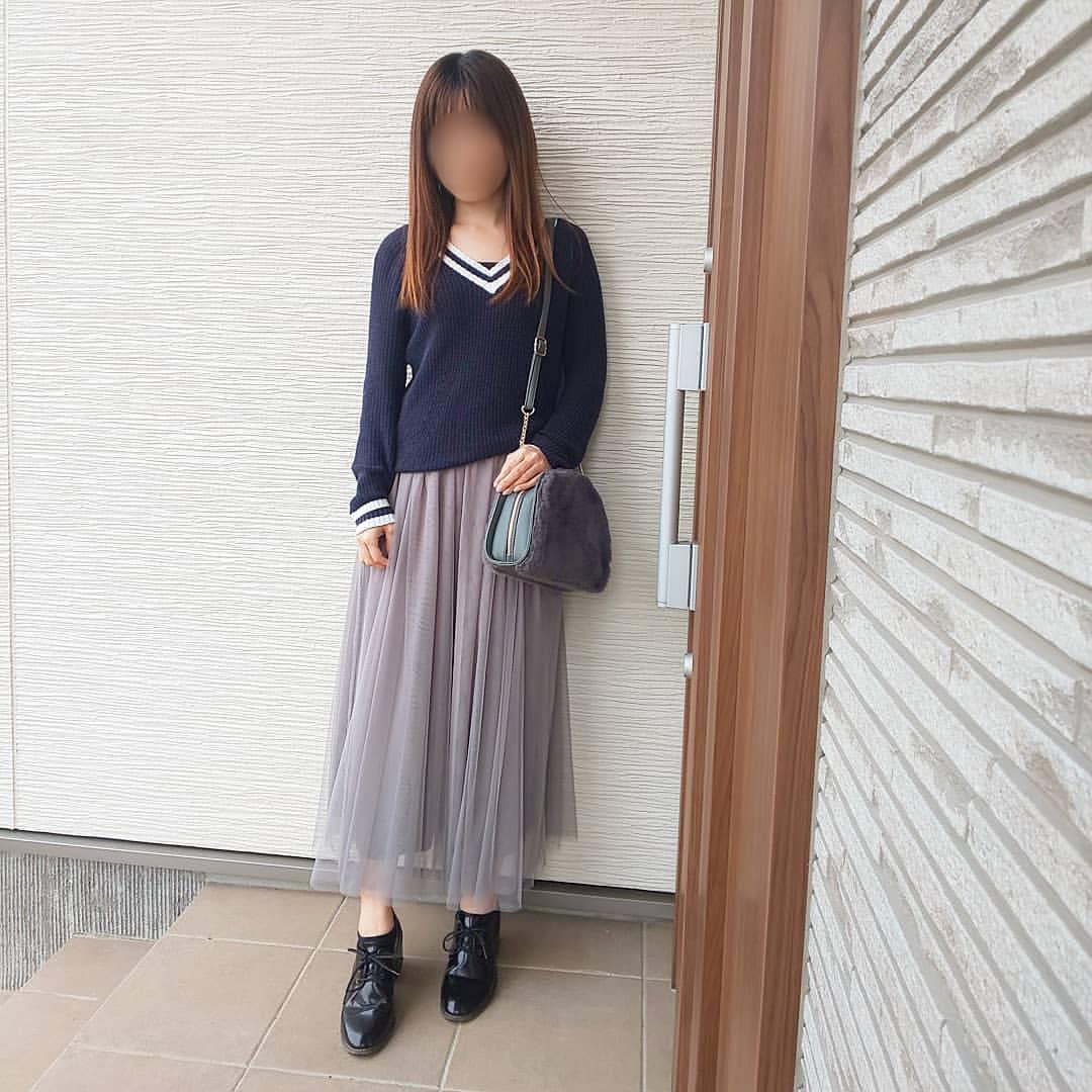 最高気温12度・最低気温2度 04_08_2mamaの服装