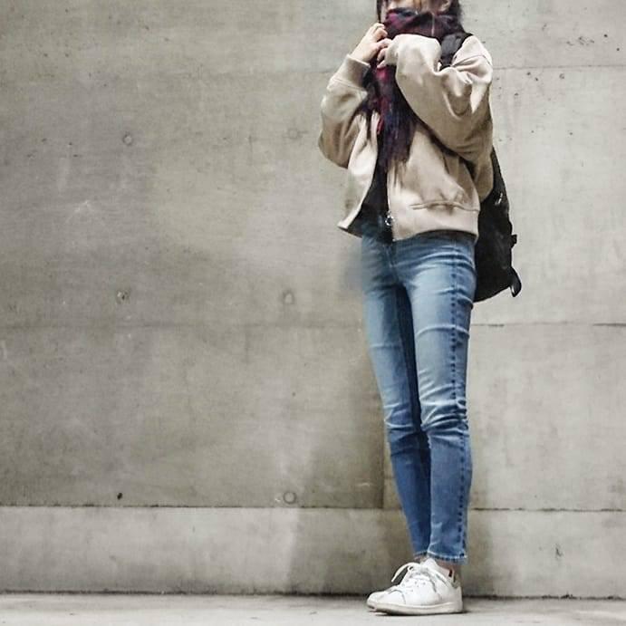 最高気温13度・最低気温4度 ___.ncnの服装