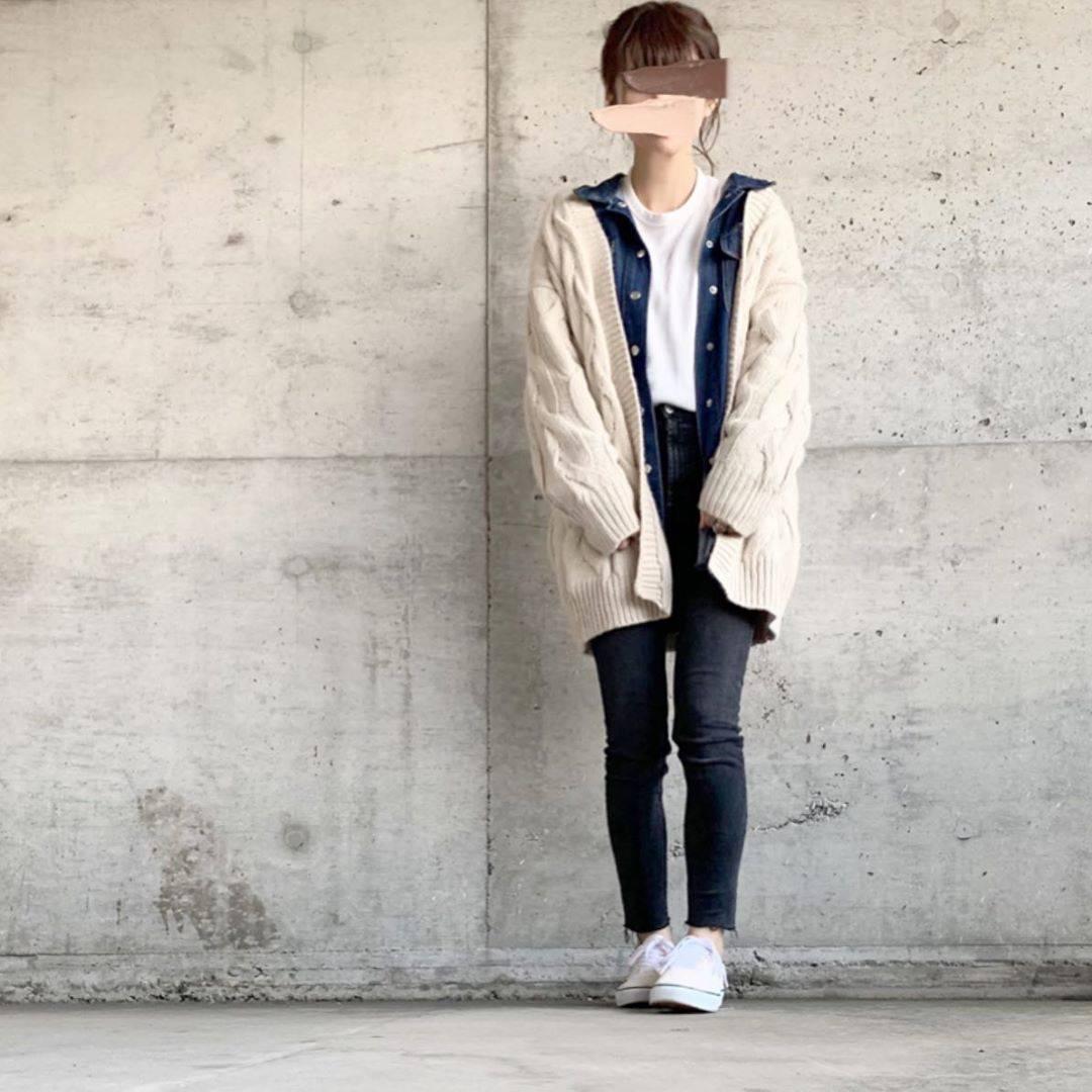 最高気温19度・最低気温12度 ___.ncnの服装