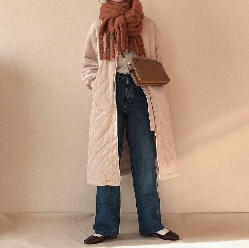 最高気温19度・最低気温8度 ___kaedeeの服装