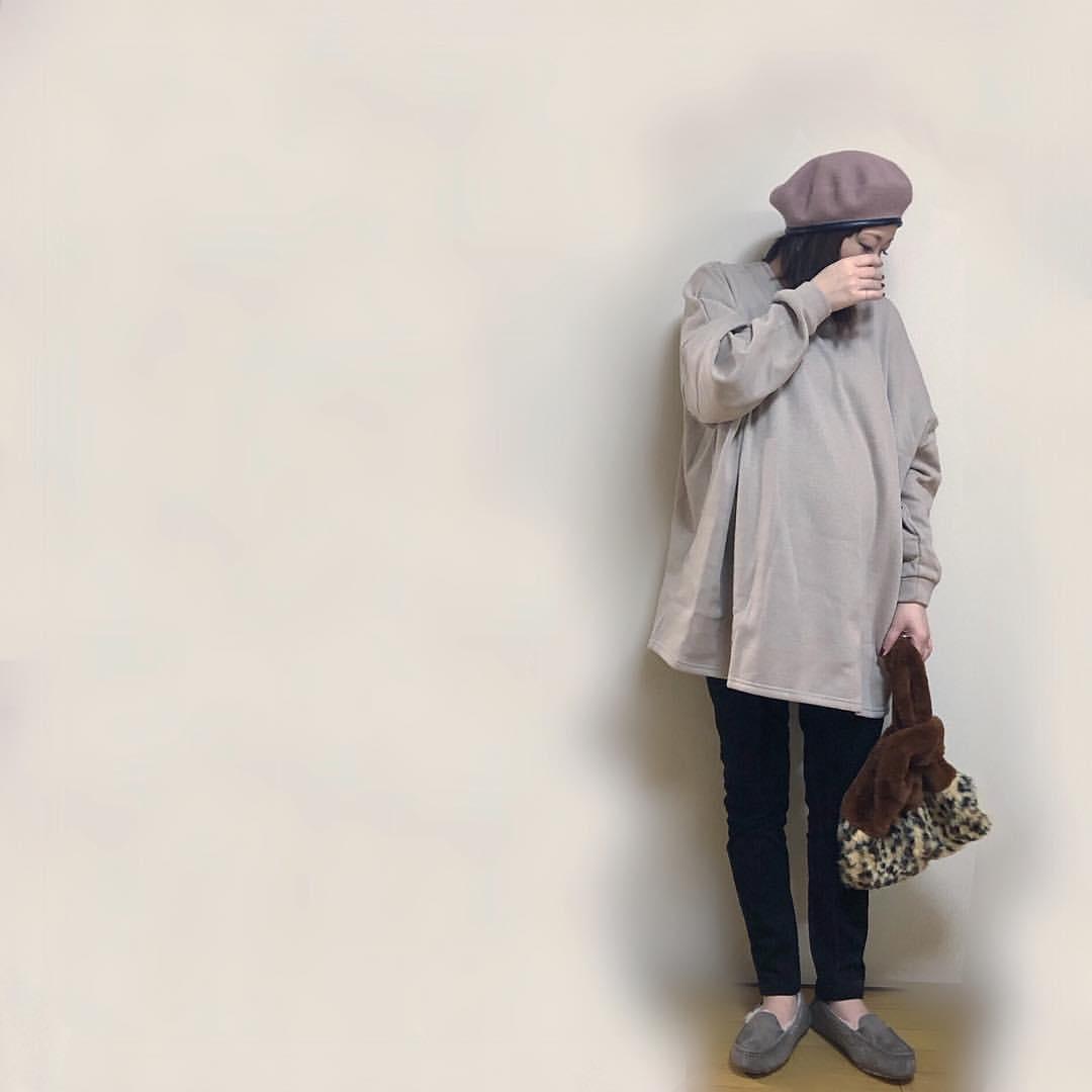 最高気温12度・最低気温0度 ___m6______erkの服装