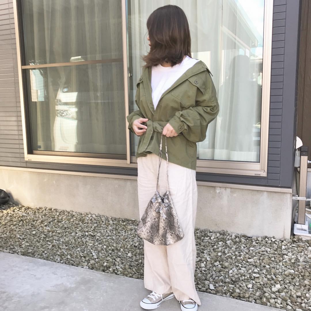 最高気温11度・最低気温7度 __saxxyaxxの服装