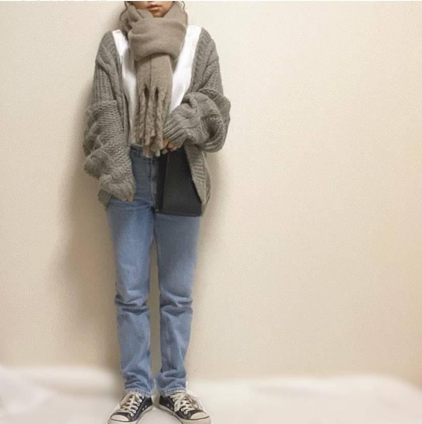 最高気温10度・最低気温2度 __saxxyaxxの服装