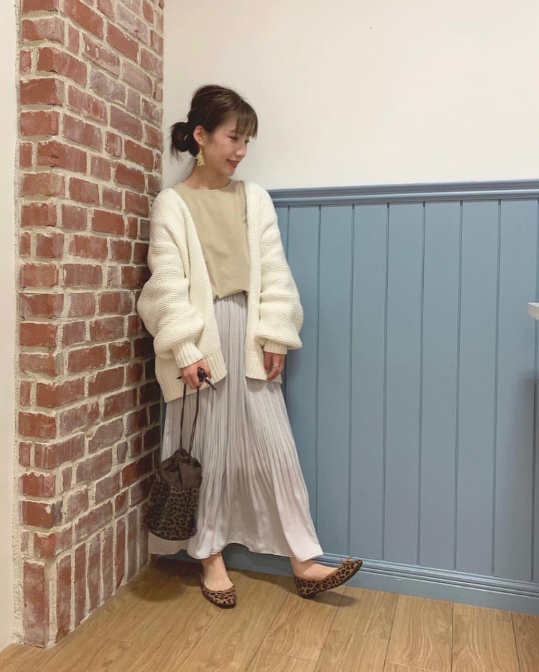 最高気温14度・最低気温7度 __tachaaanの服装