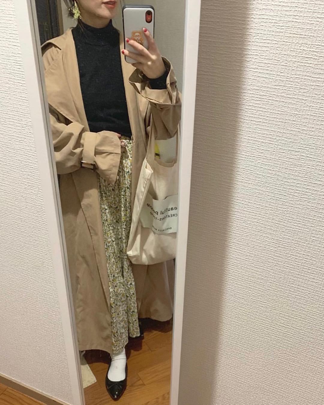 最高気温14度・最低気温5度 __tachaaanの服装