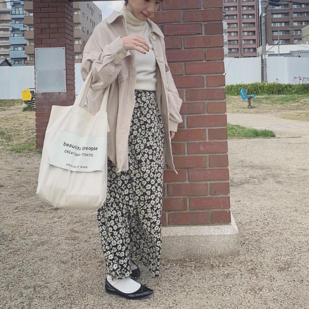 最高気温19度・最低気温5度 __tachaaanの服装