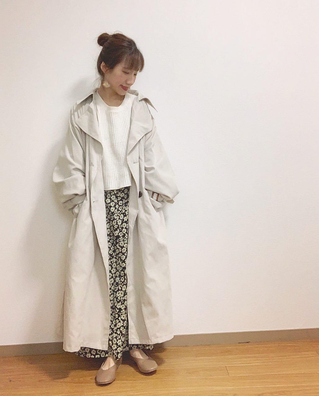 最高気温9度・最低気温4度 __tachaaanの服装