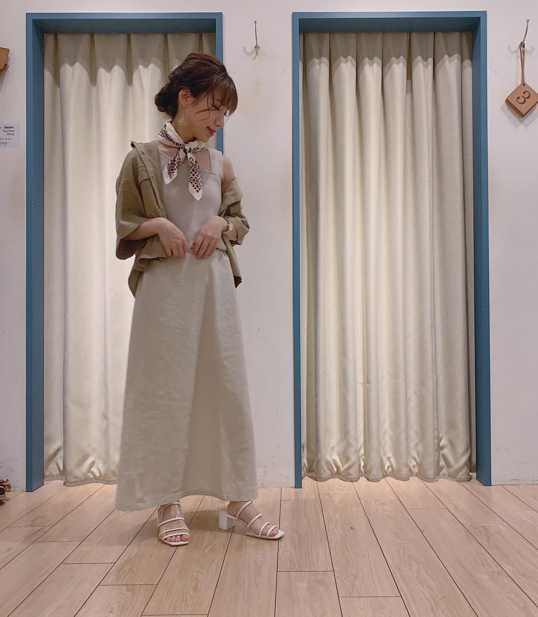 最高気温18度・最低気温6度 __tachaaanの服装