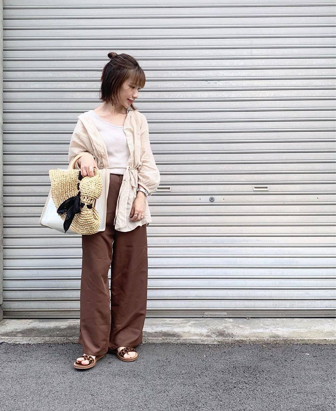 最高気温24度・最低気温19度 __tachaaanの服装