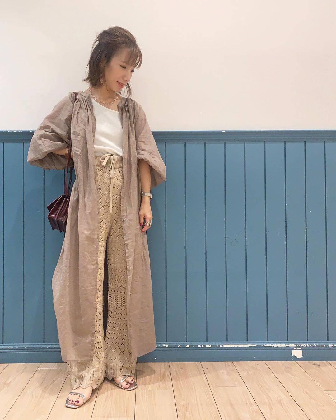 最高気温34度・最低気温25度 __tachaaanの服装