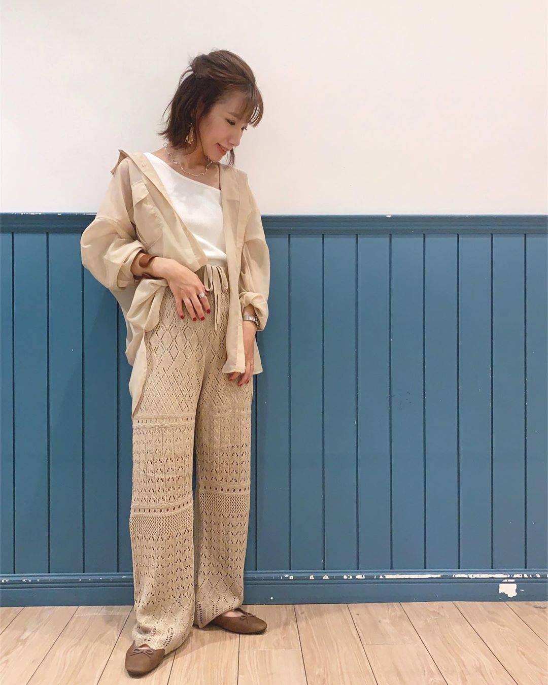 最高気温35度・最低気温26度 __tachaaanの服装