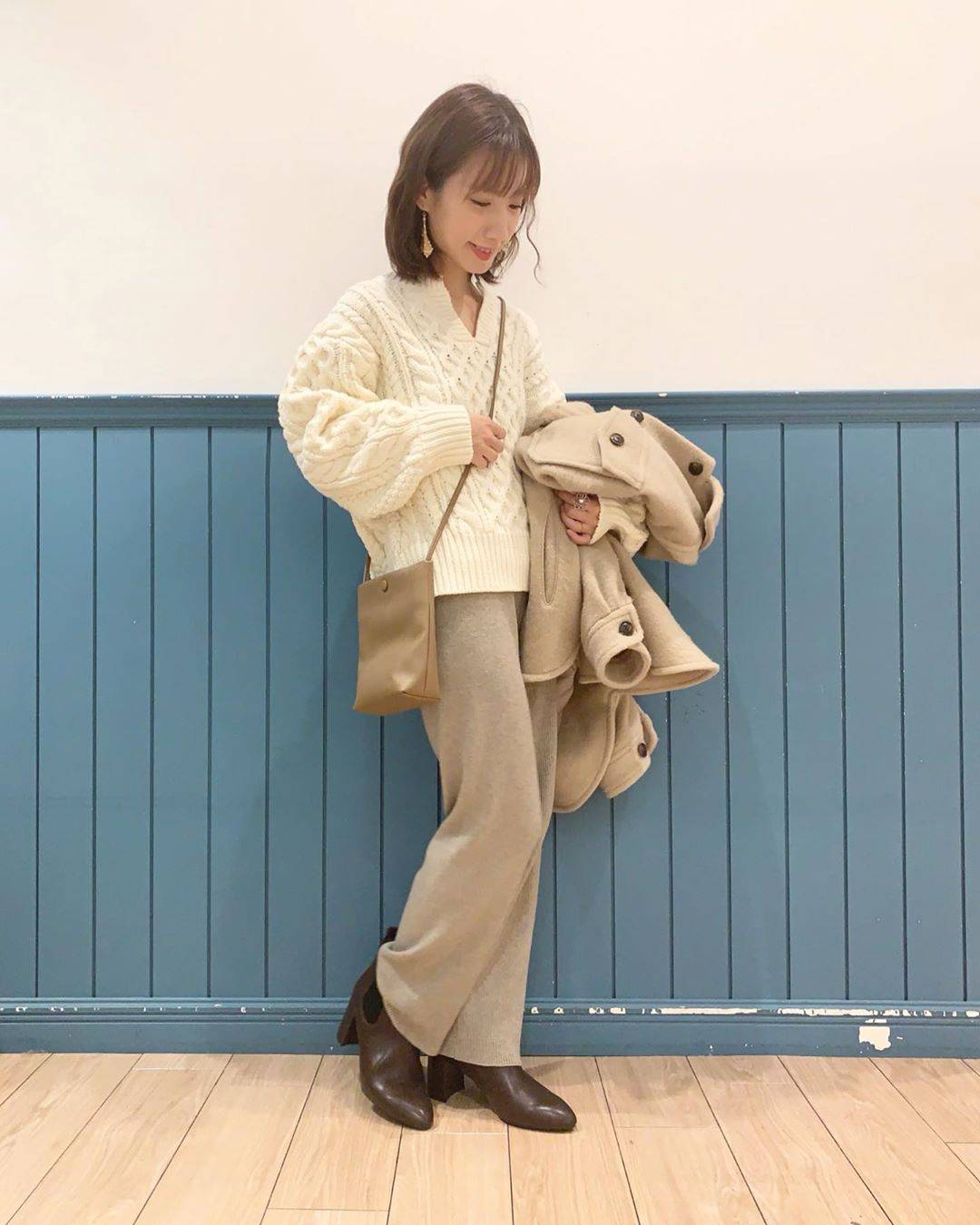 最高気温22度・最低気温15度 __tachaaanの服装