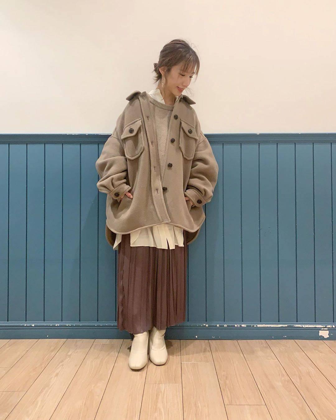最高気温9度・最低気温1度 __tachaaanの服装