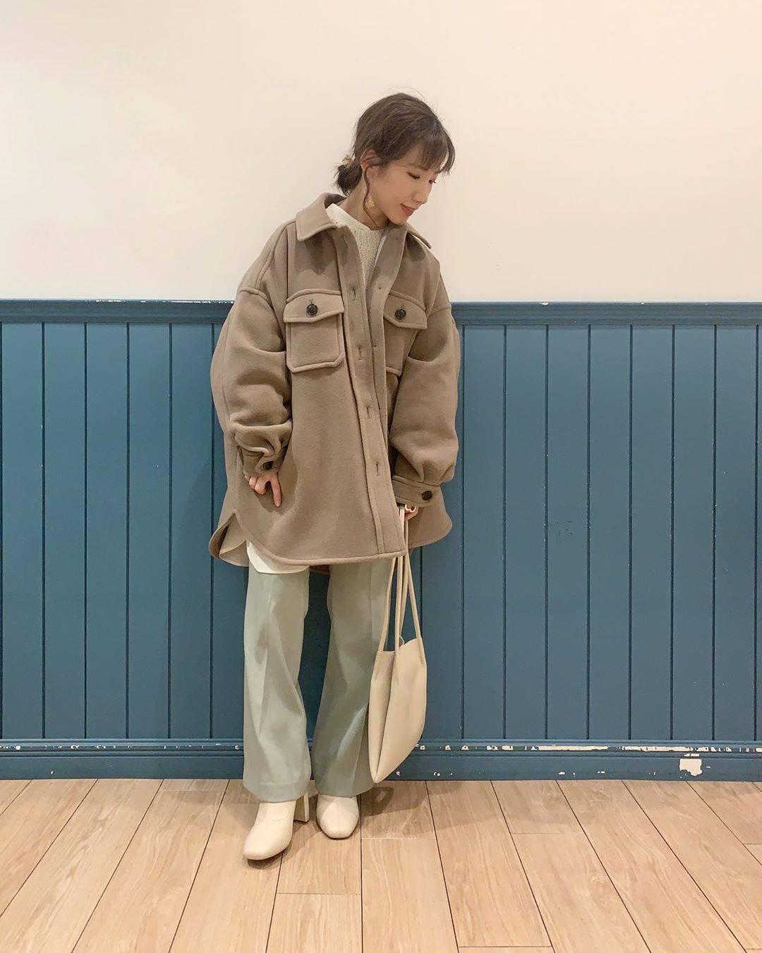 最高気温13度・最低気温4度 __tachaaanの服装