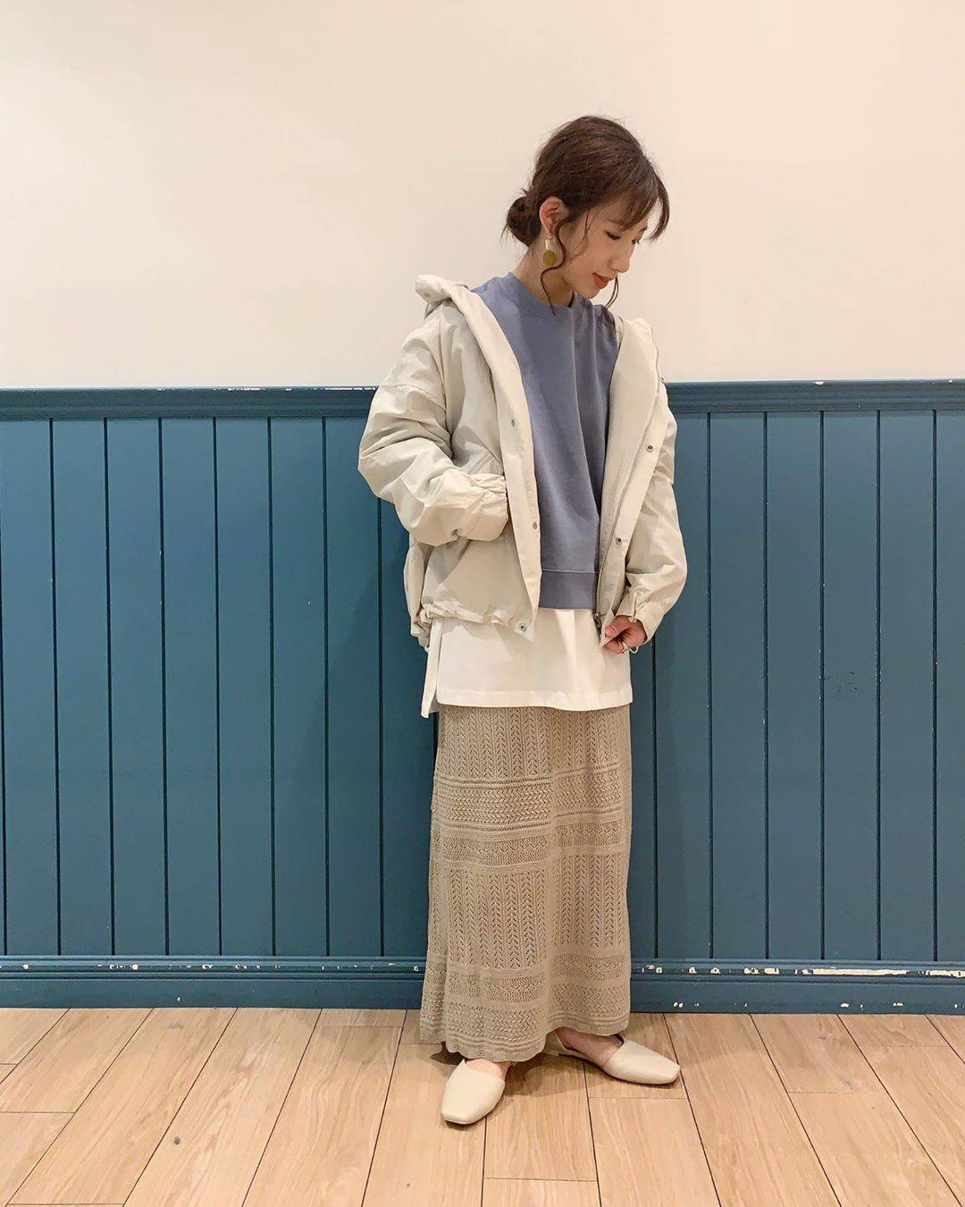最高気温17度・最低気温6度 __tachaaanの服装