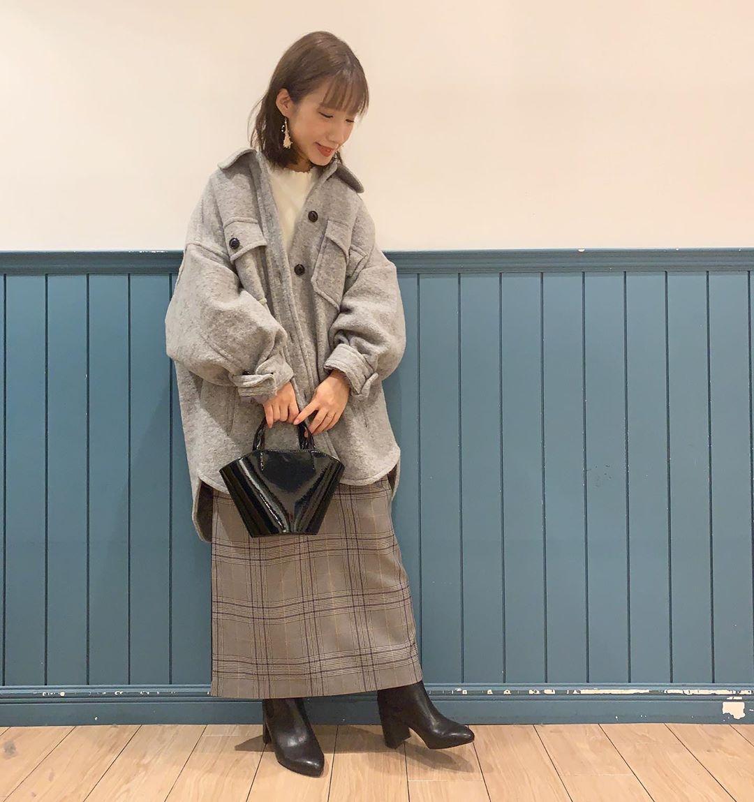 最高気温17度・最低気温7度 __tachaaanの服装