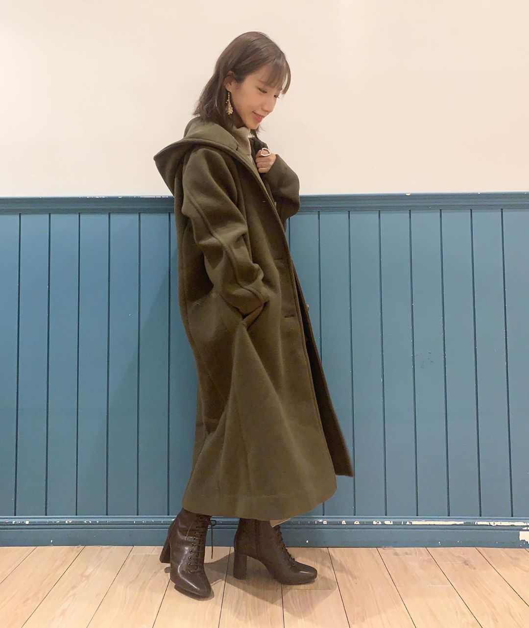最高気温12度・最低気温5度 __tachaaanの服装