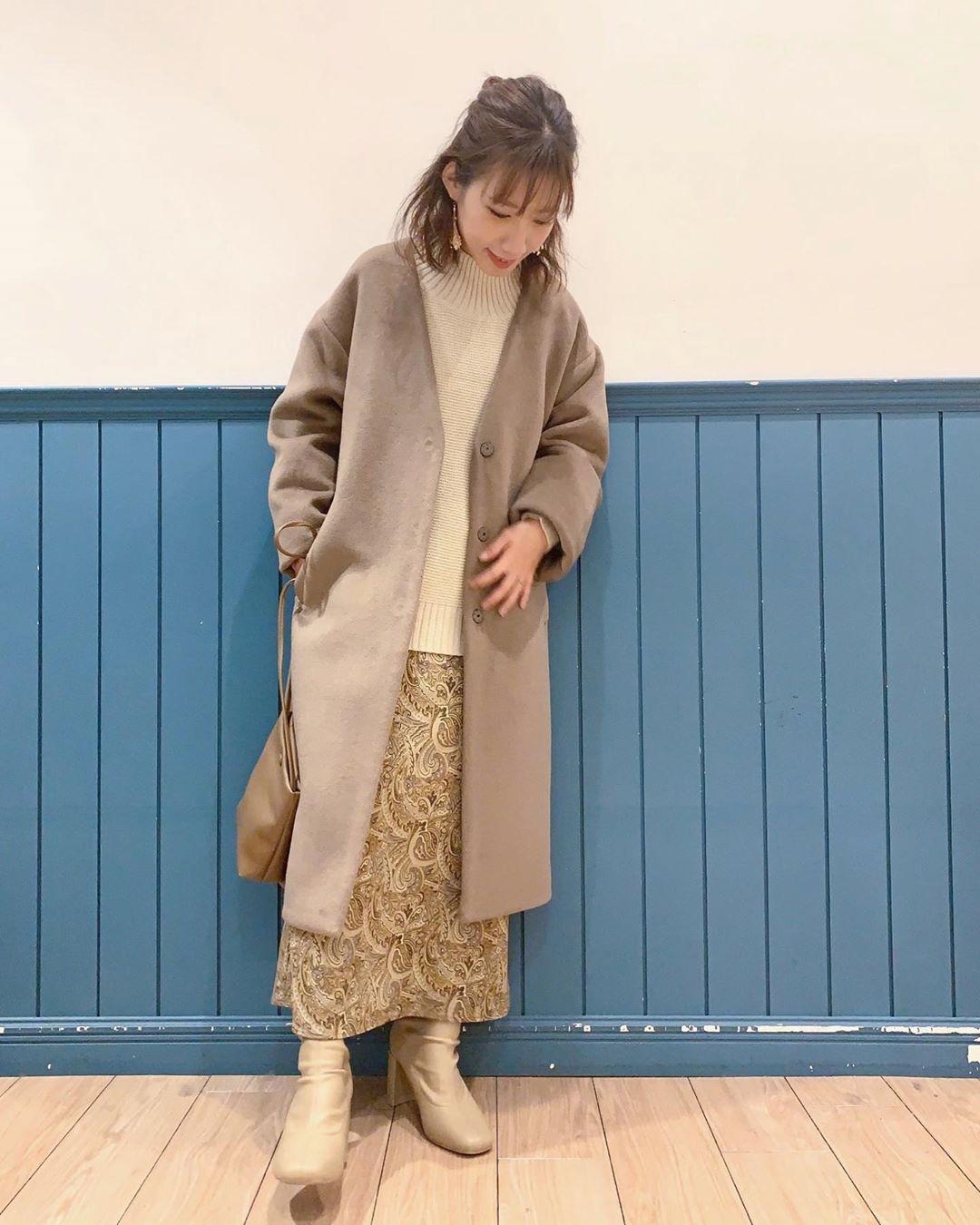 最高気温15度・最低気温7度 __tachaaanの服装