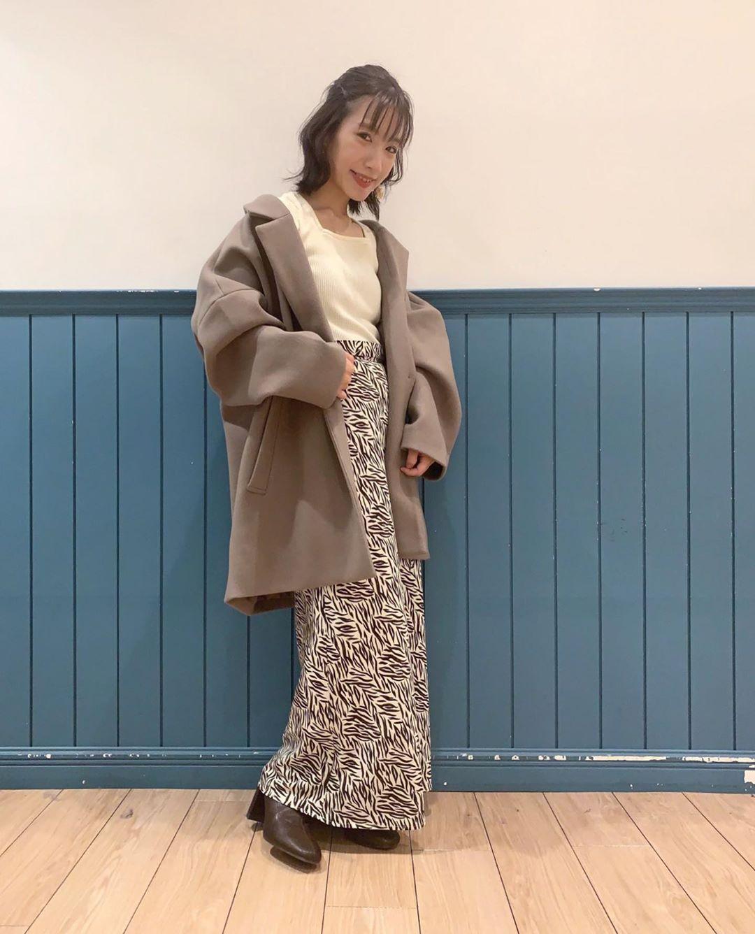 最高気温14度・最低気温6度 __tachaaanの服装