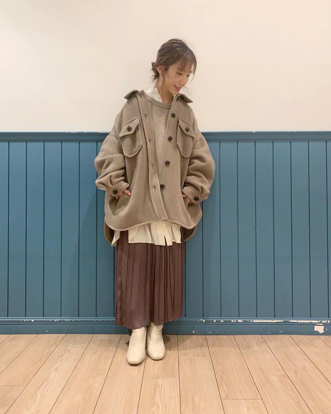 最高気温15度・最低気温10度 __tachaaanの服装