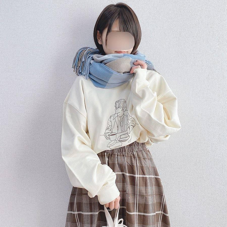 最高気温17度・最低気温11度 _a03man_の服装