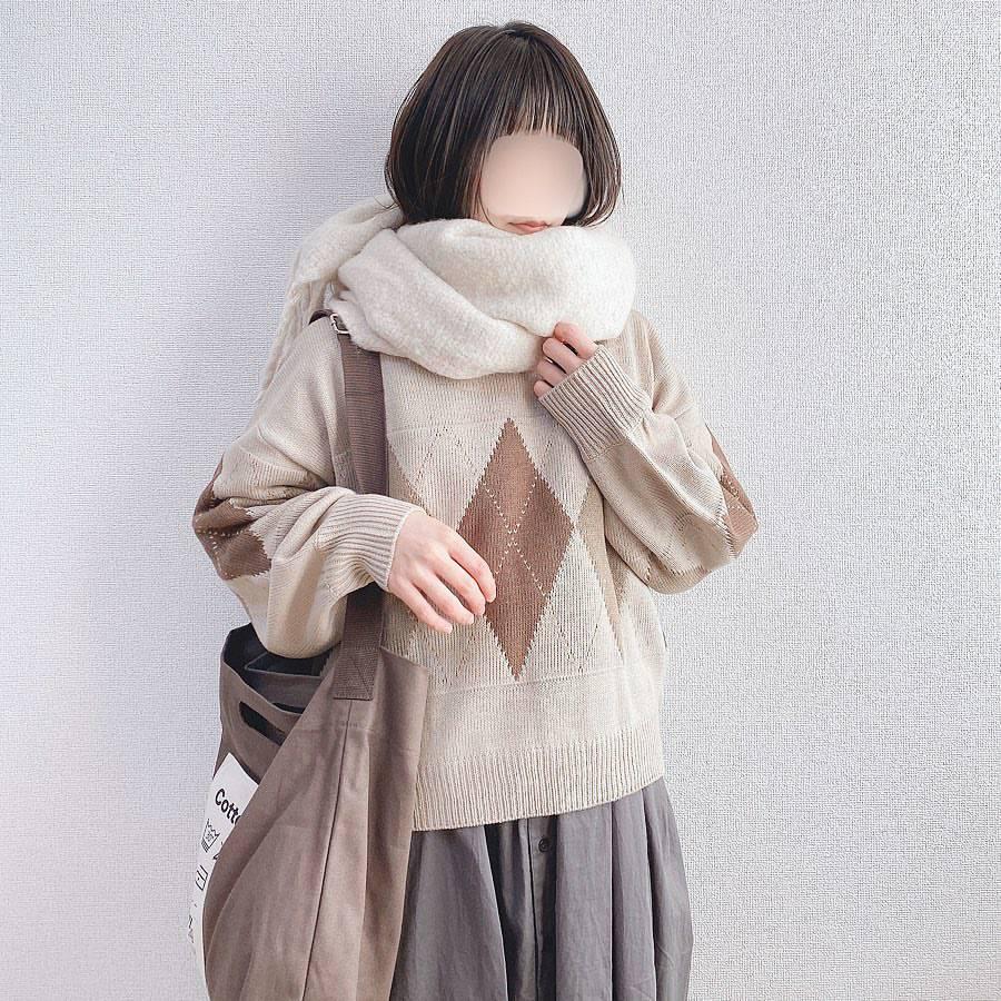 最高気温21度・最低気温12度 _a03man_の服装