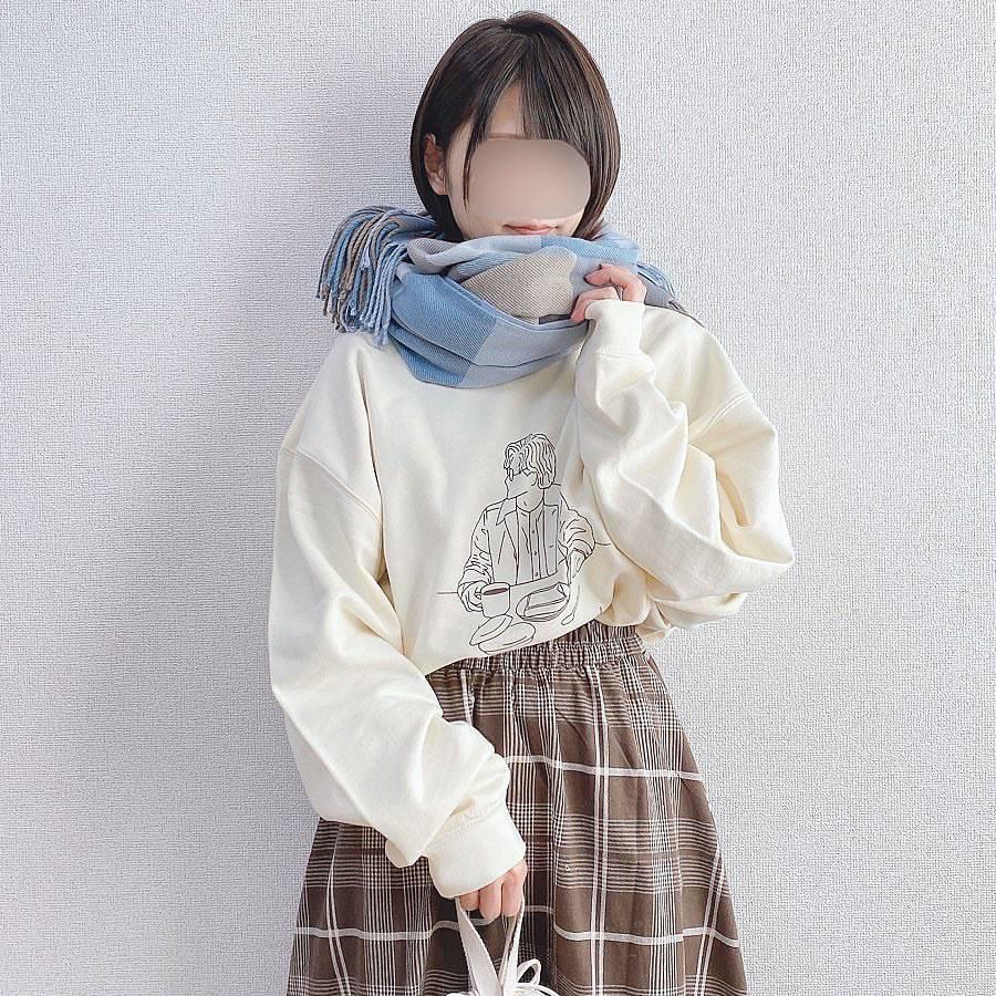 最高気温8度・最低気温4度 _a03man_の服装