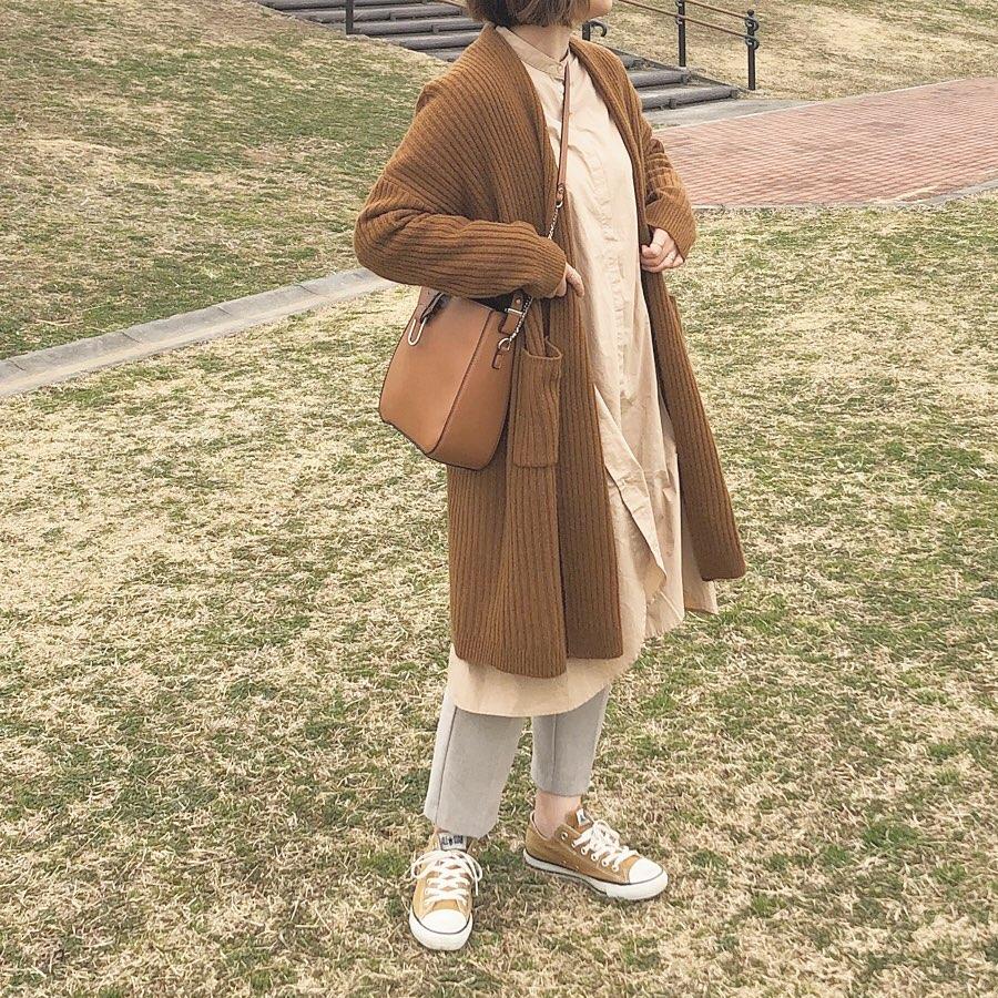 最高気温18度・最低気温10度 _mayu123_の服装