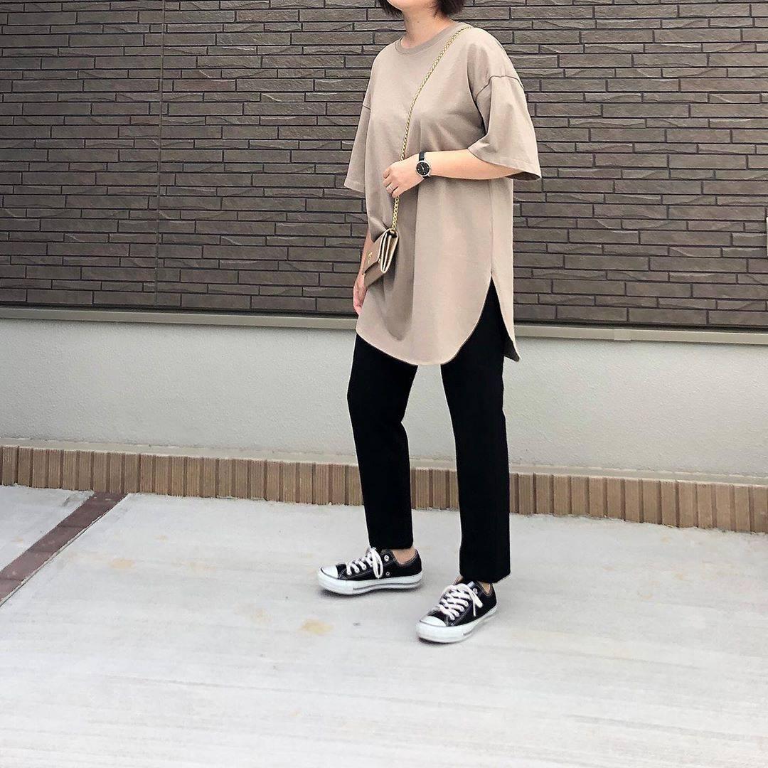 最高気温24度・最低気温19度 _mayu123_の服装