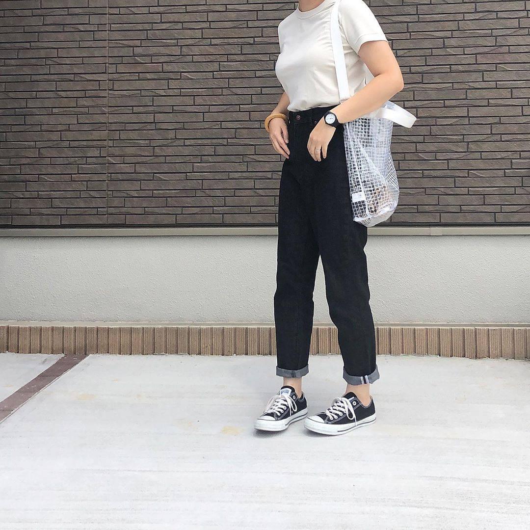 最高気温24度・最低気温20度 _mayu123_の服装