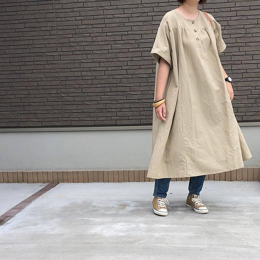 最高気温21度・最低気温18度 _mayu123_の服装