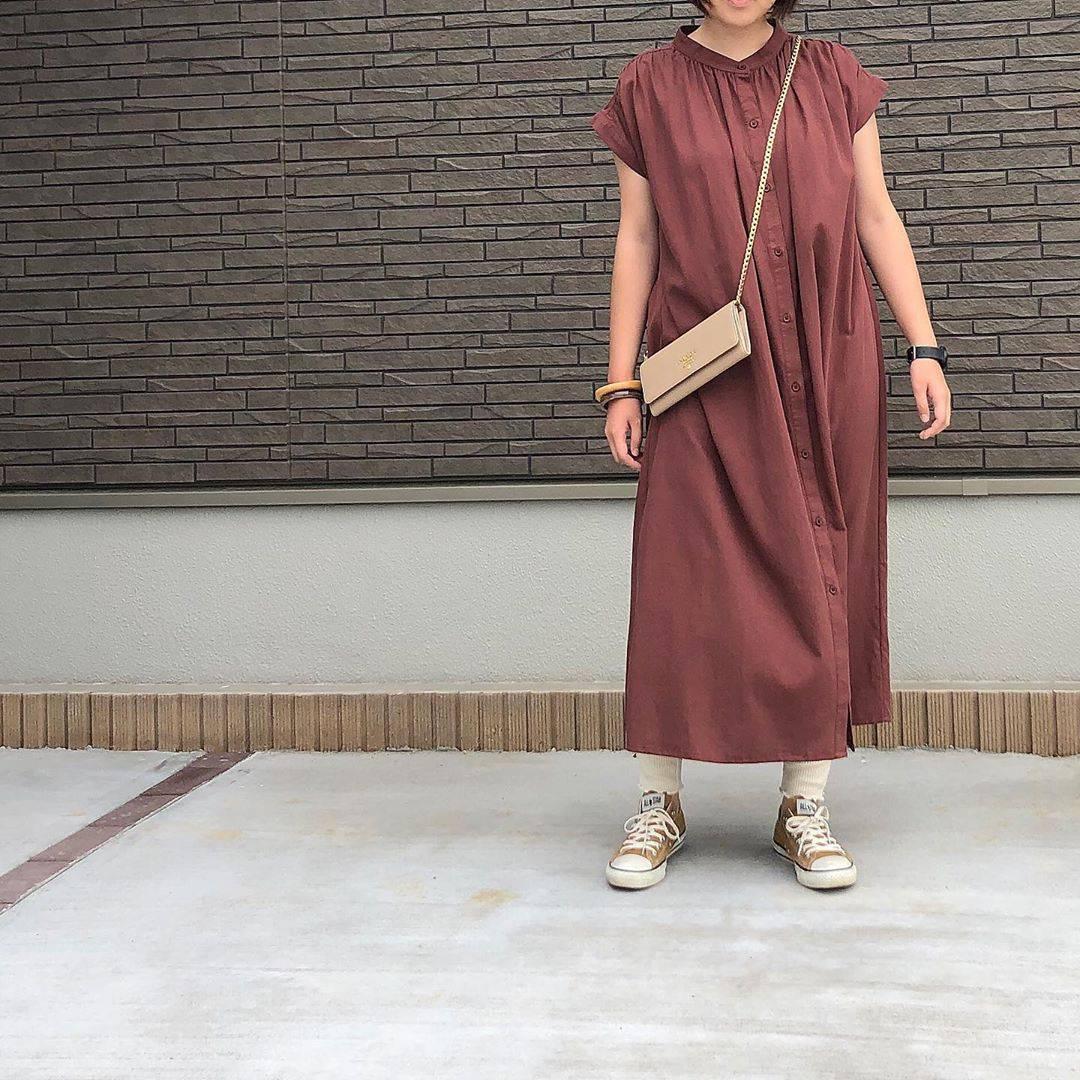 最高気温27度・最低気温20度 _mayu123_の服装
