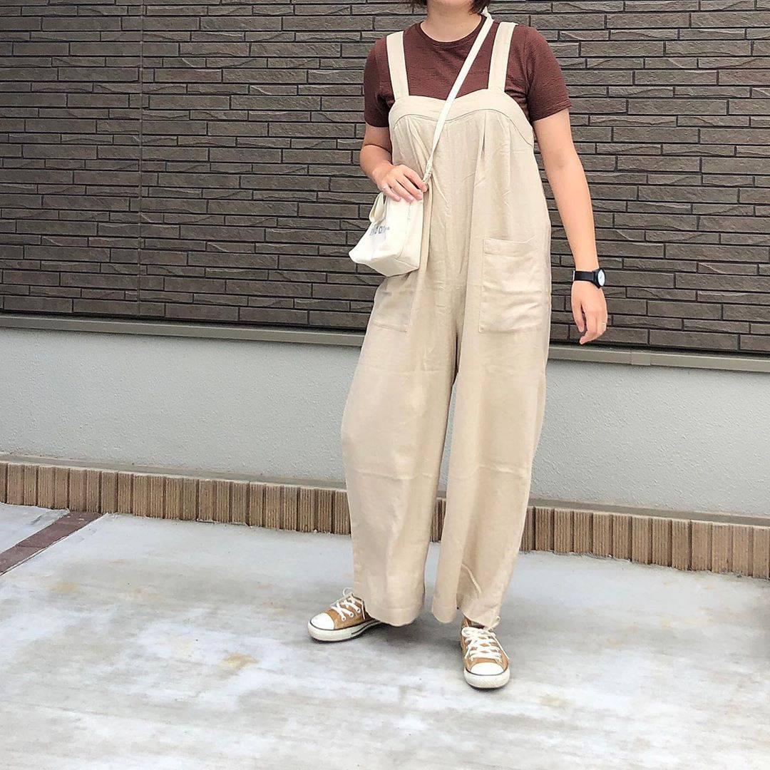 最高気温22度・最低気温19度 _mayu123_の服装