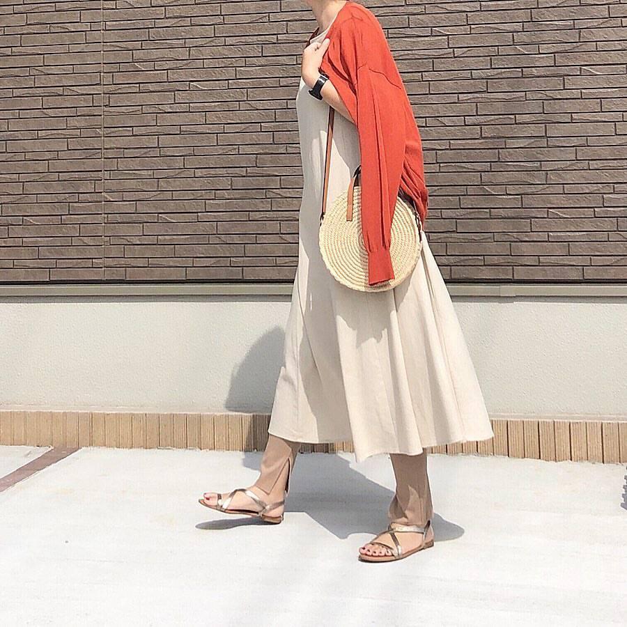 最高気温28度・最低気温24度 _mayu123_の服装