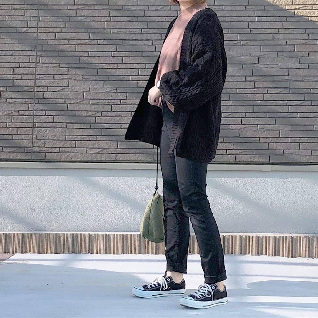 最高気温21度・最低気温9度 _mayu123_の服装