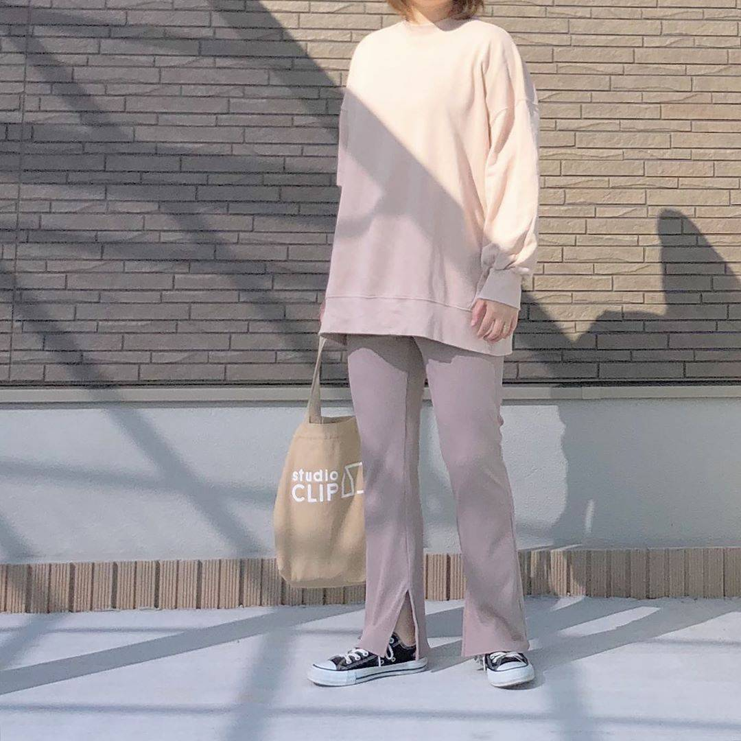 最高気温20度・最低気温11度 _mayu123_の服装