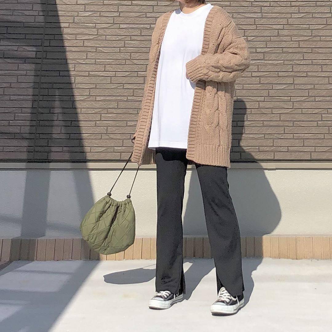 最高気温15度・最低気温9度 _mayu123_の服装