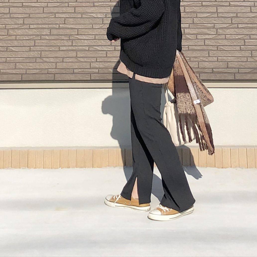 最高気温9度・最低気温1度 _mayu123_の服装
