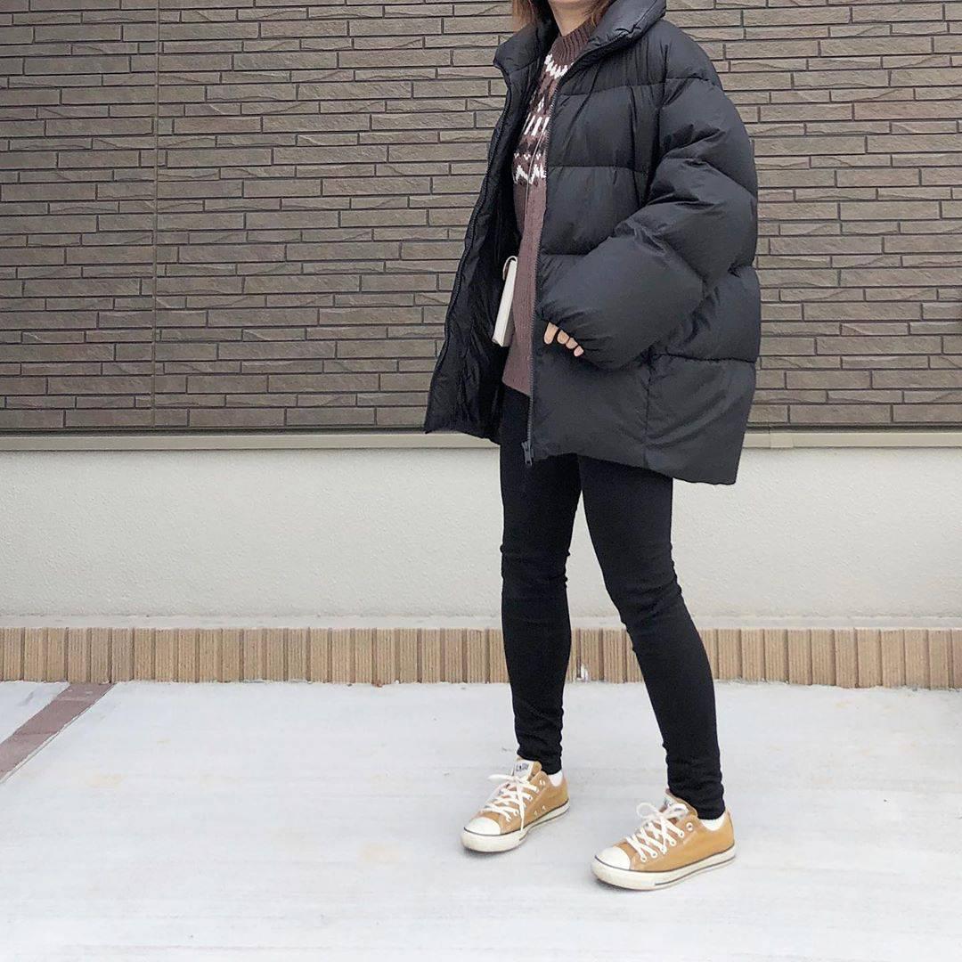 最高気温9度・最低気温6度 _mayu123_の服装