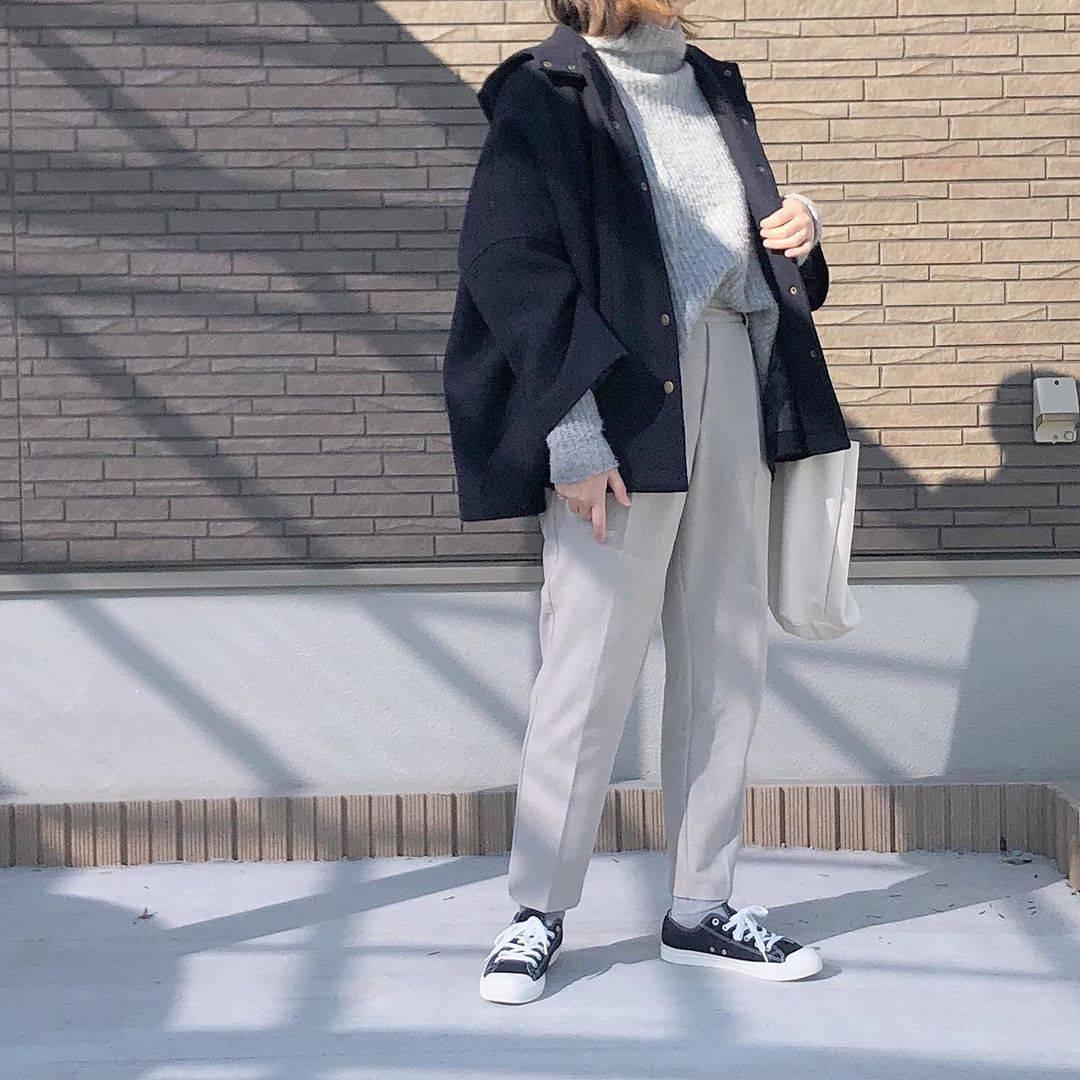 最高気温8度・最低気温3度 _mayu123_の服装