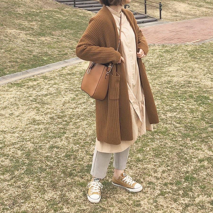 最高気温13度・最低気温4度 _mayu123_の服装