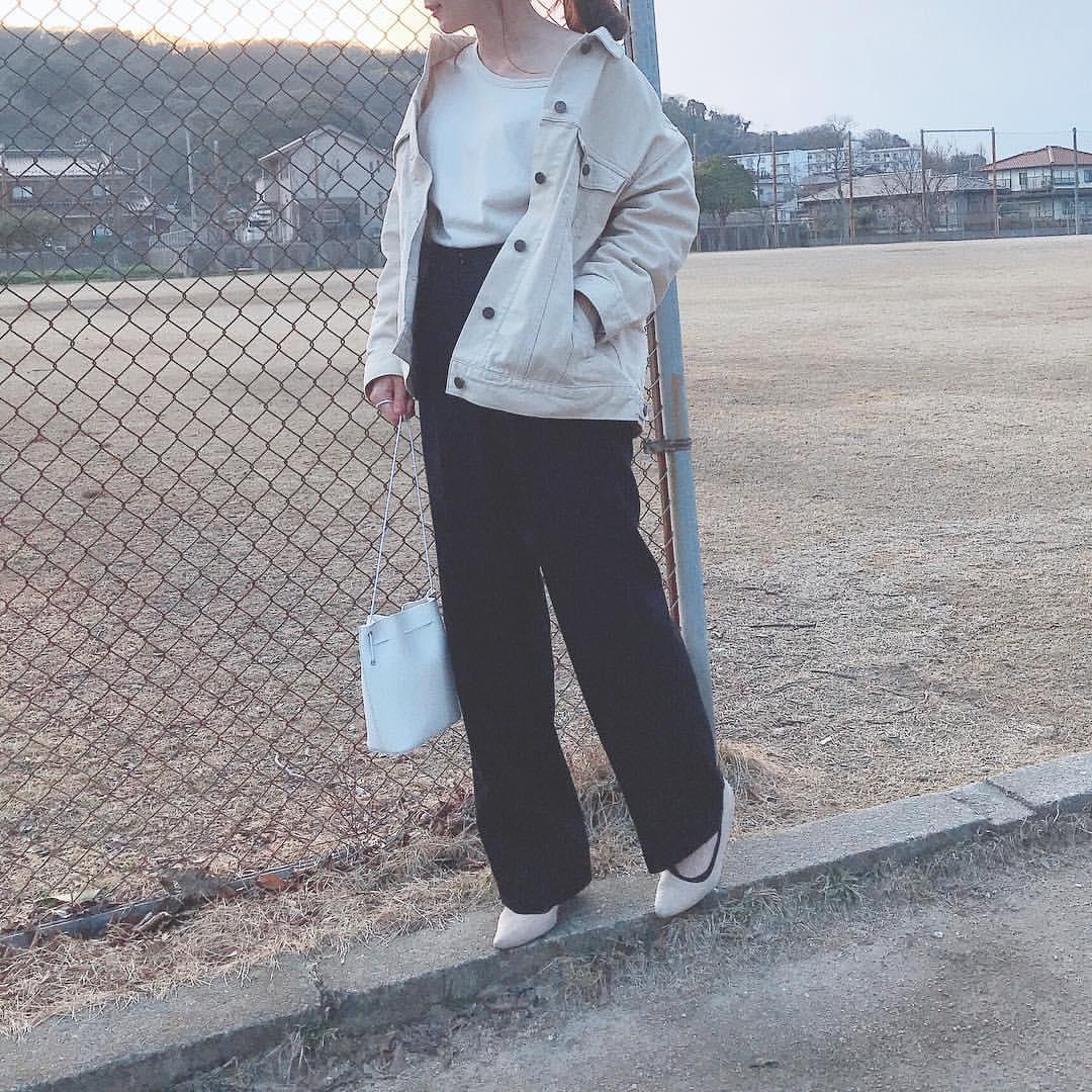 最高気温15度・最低気温4度 _ukiko___15の服装