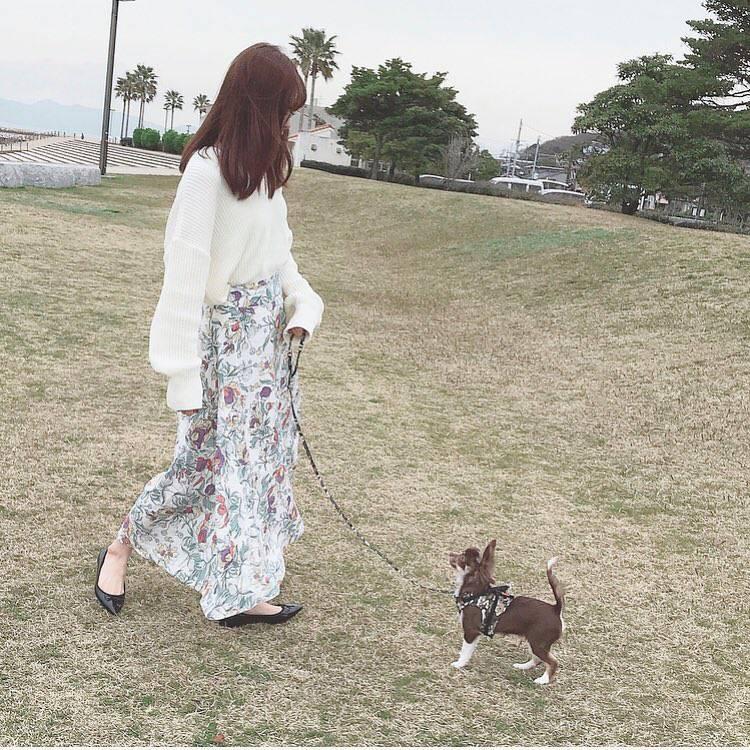 最高気温19度・最低気温7度 _ukiko___15の服装