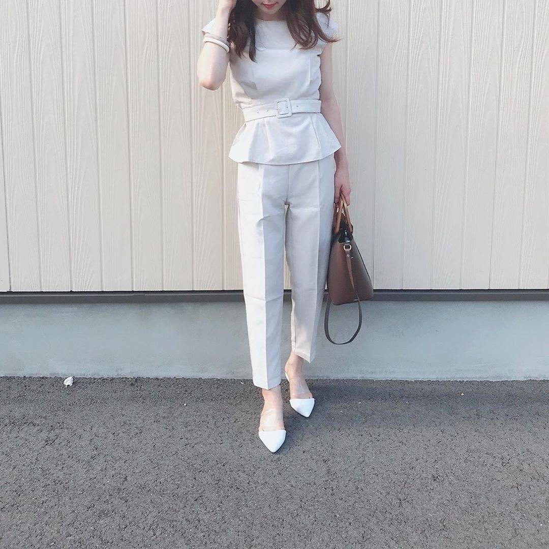 最高気温21度・最低気温19度 _ukiko___15の服装